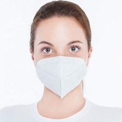 Anti polvere all'ingrosso del PPE KN95 FFP2 4 pieghe 5 maschera di protezione polverizzata civile protettiva di Mascarilla di sicurezza del respiratore di Kn 95 di strato N95 con GB2626-2006 3m 1860