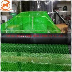 녹색 컬러 폴리에틸렌 플라스틱 판형 와이어 메시