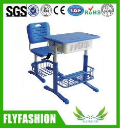 Plastic Bureau van de School van de Lijst van de Student van de School van Handcrank het Regelbare Enige met Stoel