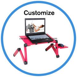 La coutume moderne en acier inoxydable flexible réglable Ordinateur de bureau