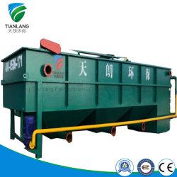 Flotación por aire disuelto de alta calidad de aguas residuales aceitosas planta de tratamiento para el Teñido de Química//farmacéutica Pre-Treatment alcantarillado