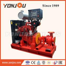 Pompa ad acqua centrifuga di lotta antincendio di aspirazione di conclusione del motore diesel