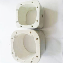 Alta resistência ao calor de Cerâmica Branca Industrial parte de esteatite Ceramic
