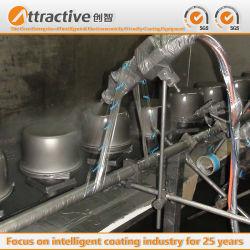 Malasia Hot-Selling Revestimiento de pulverización de la línea de montaje de producción para el campo de utensilios de cocina