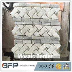 Nuovo arrivo striscia di marmo Mosaico bordo per piastrelle da parete bagno