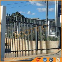 Durable 2.1*2.4 de l'acier ordinaire de clôture de sécurité