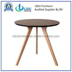 Runde Speisetisch-Gaststätte-Speisetisch-Möbel-Antike-Art-feste Eichen-Holz-Speisetisch-Oberseite mit Stuhl