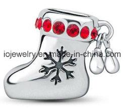 L'empoissonnement de cadeau de Noël Silver Charm perle