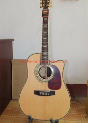 Ksg Cutaway D45 Acoustic Guitar Mt Single Cut D45 Solid Spruce Top Dreadnought Acoustic Electric Guitar Replica von D45 Classic Acoustic Guitar