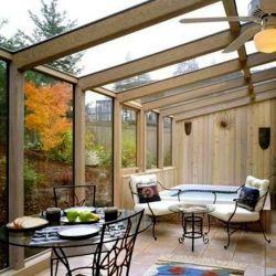 Romantische huis warmte-isolatie Lamineerd glas Aluminium zonnekamer Conservatorium Greenhouse Aluminium Greenhouse Aluminium Frame wintertuin