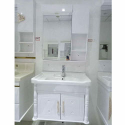 Het kleine Kabinet van de Badkamers van het Meubilair van de Badkamers van pvc van de Opschorting van de Grootte