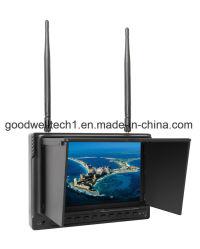 1024X600 Monitor LCD de 7 pulgadas con DVR y la batería