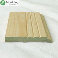 Livro Verde revestido de MDF folheado de madeira de rampa de cadeira de cinzas Molding