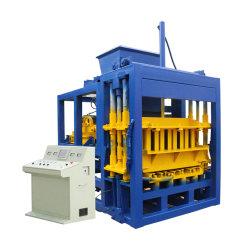 Kleiner konkreter blockierenstraßenbetoniermaschine-hydraulische Presse-vollautomatischer Plasterungs-Kleber-grosser Kapazitäts-Ziegelstein-Hersteller-Block der fliese-Qt4-16, der Maschine herstellt