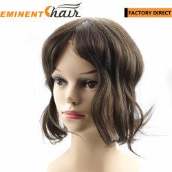 女性のための注文のなされたレースの前部毛の取り替えの Toupee