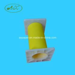Suporte plástico do suporte plástico extremidade plástica do suporte da tampa