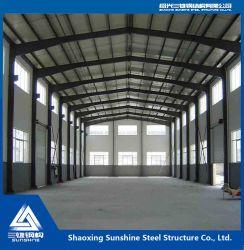 Progetto prefabbricato della costruzione di edifici della struttura d'acciaio della fabbrica della Cina