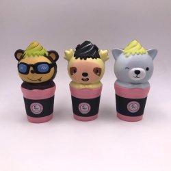 Tubo doces ostentar a subida lenta novidade brinquedos PU Squeeze Squishy Toy