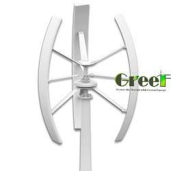 3kw Trubine vertical du vent solaire, générateur d'énergie du vent sur le système de grille