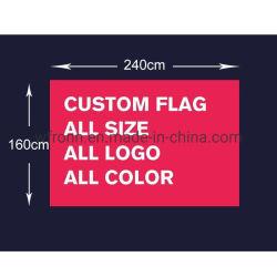 Les commandes d'usine de 3X5FT Drapeau de polyester d'impression ad