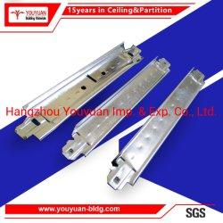 Barra del T T del soffitto per la scheda di gesso del PVC del comitato del PVC del comitato di soffitto