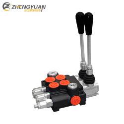 valvola di regolazione direzionale di 2p40 40L/Min Hydrauilic per le caricatrici/carrelli elevatori/veicoli chiari dell'ambiente
