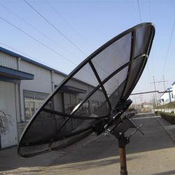 هوائي من النسيج الشبكي Ku C Band بطول 240 سم و8قدم 2.4 م مصنوع من الأقمار الصناعية