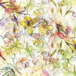 قماش حرير ساتان للطباعة الرقمية 100% لقماش النساء (TLD-0045)