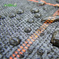 Calificó de muestras gratis de la agricultura de plástico tejida PP tejida cubierta de la masa de tejido de control de malezas de paisaje