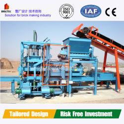 Linea di produzione mattoni per la formatura e la pavimentazione di calcestruzzo di alta qualità
