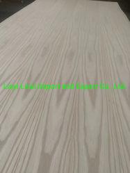 خشب البلوط الأحمر الطبيعي/خشب الرماد الرماد مع 2,7 مم - 18 مم