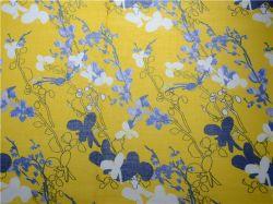 고품질 맞춤형 디지털 인쇄 Ramie Cotton Fabric(DSC-4120)