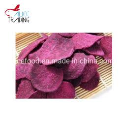 De droge Groenten van de Stijl met Vacuüm braadden Purpere Zoete Chips