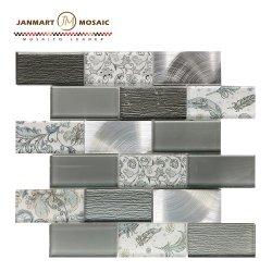La porcelaine de salle de bains en mosaïque Mosaïque Mosaïque de verre Art