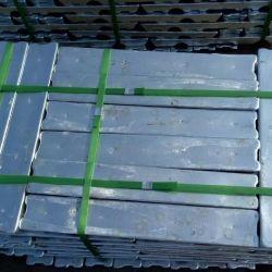 아연 합금 주괴 또는 고품질 최신 판매 99.995% 순수한 아연 금속 /Provide SGS 증명서 또는 공장 직매