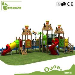 Детей в Сказочной страны большими деревянными открытый детская площадка для развлечений