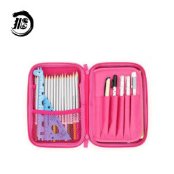 어린이 귀여운 대용량 사용자 지정 연필 가방 워터프루프 학생 스토리지 학교 용품 EVA 연필 케이스