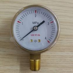 China Fabricante Regulador fornecido o medidor de pressão, indicador de acetileno, Medidor de oxigénio