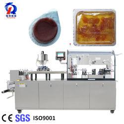 전자동 DPP 액체 올리브 오일 잼 소스 케첩 꿀 버터 치즈 페이스트 크림 마멀레이드 블리스터 포장 기계