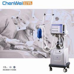 병원 수술용 의료 서비스 - ISO 및 CE가 있는 ICU 인공호흡기 CWh-3010A 주식은 유아 및 성인에 사용할 수 있습니다