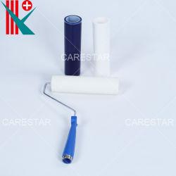 Desechables, blanco o azul PE ESD adhesivo rodillo pegajoso para laboratorio