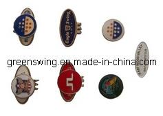 Venta al por mayor directa de fábrica de metal personalizados pelota de golf Hat Clips (GS-511)