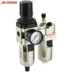 """3/8 """" Duim SMC Pneumatische AC3010-03 Fr. L de Combinatie van de Filter van de Lucht van het Smeermiddel van de Olie van de Val van het Water van de Uitrusting van de Maat van de Regelgever van de Druk"""