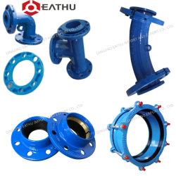 ISO2531 En545 En598 ポータブル / 下水水用ダクトタイル鉄パイプ継手 パイプライン / 灌漑システム