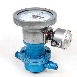 مقياس تدفق البنزين الرقمي بيضاوي الشكل بقدرة 4 إلى 20 مللي أمبير، مقياس تدفق الزيت