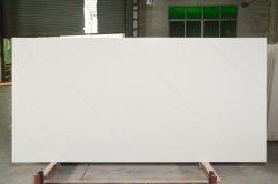 El blanco puro papel de pared de piedra artificial Irlanda Cocina encimeras de cuarzo fabricante de paneles de la Nanotecnología zócalos de azulejos de Home Depot Minicrystal espejo de cristal