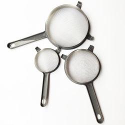 3ПК на базе различных размеров пластиковые кухонные сетчатый фильтр сетчатый фильтр ложечка
