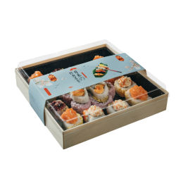 أخرج صندوق طعام الحاويات حزمة Vishu في عرض الخشب قابل للطيبص جيد للشحن