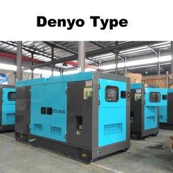 30kw steuern den Gebrauch-beweglichen leisen Dieselgenerator automatisch an, der durch berühmten Motor angeschalten wird