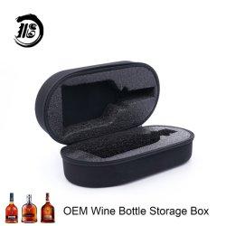 Esponja personalizado a los golpes botella de vino envasado frágil vaso de la protección de la bolsa de portátil Zipper EVA Bolsa botella caja de embalaje Caja de almacenamiento EVA Caso